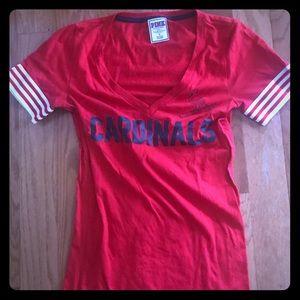 Vs pink cardinals t shirt